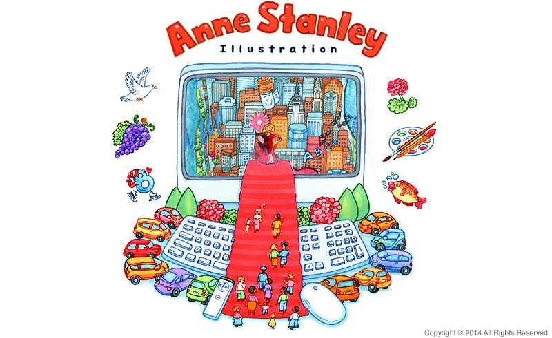anne stanley illustration